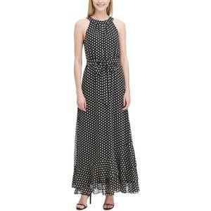 Dresses & Skirts - NEW Calvin Klein Halter Ruffled Hem Maxi Dress